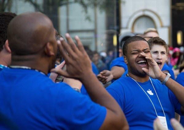 Apple chém gió về doanh số iPhone 5s, iPhone 5c