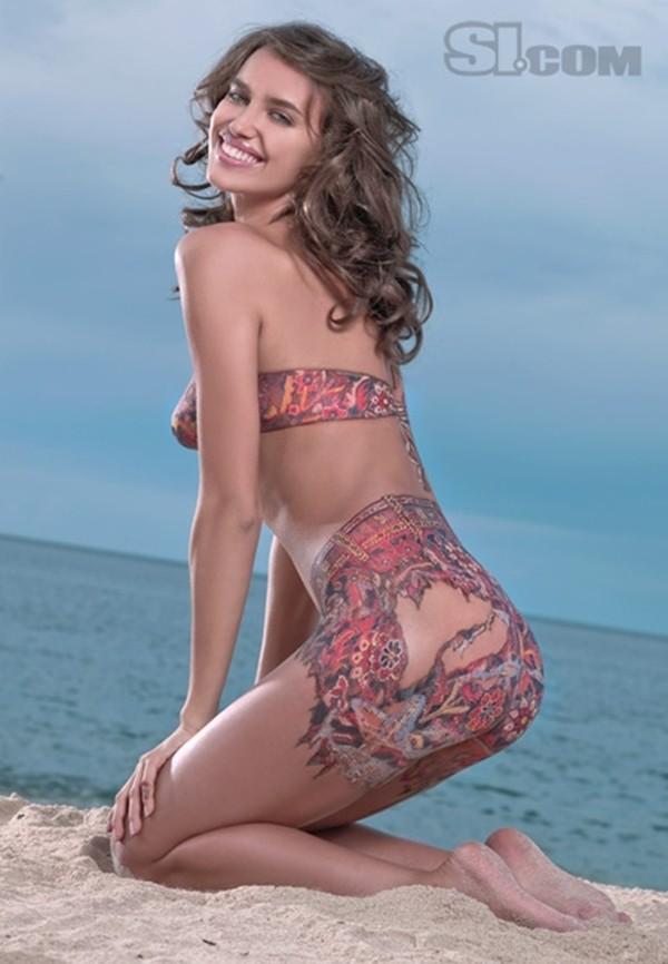 Lộ ảnh Irina Shayk hờ hững lấy tay che ngực khủng 6