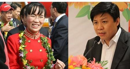 Vợ chồng doanh nhân Hùng - Thảo.