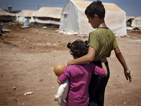 Một phần tiền ủng hộ cho những người tị nạn Syria đang rơi vào tay các phần tử khủng bố.