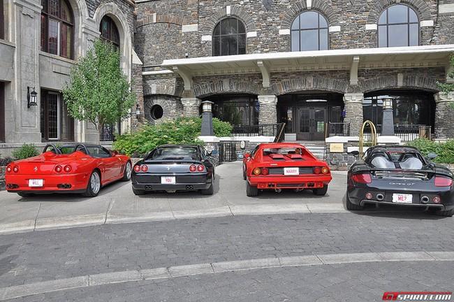 Cầu hôn bạn gái bằng dàn xe Ferrari và Porsche 2