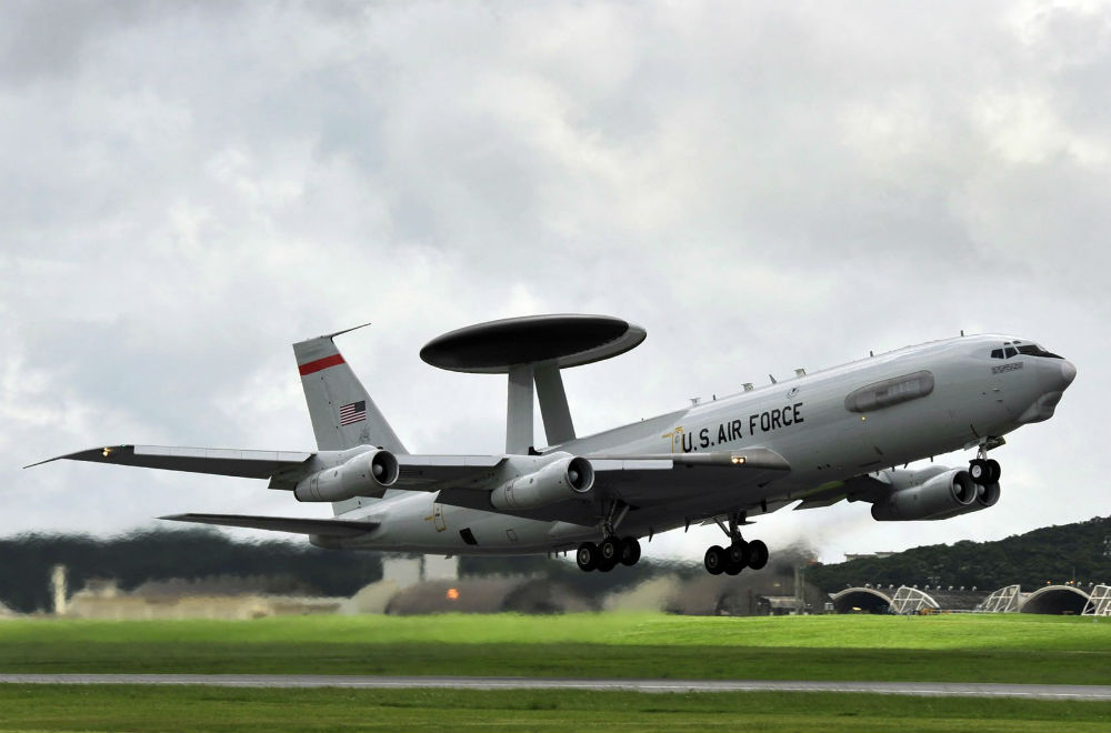 Máy bay AWACS Boeing E-3 Sentry của Mỹ