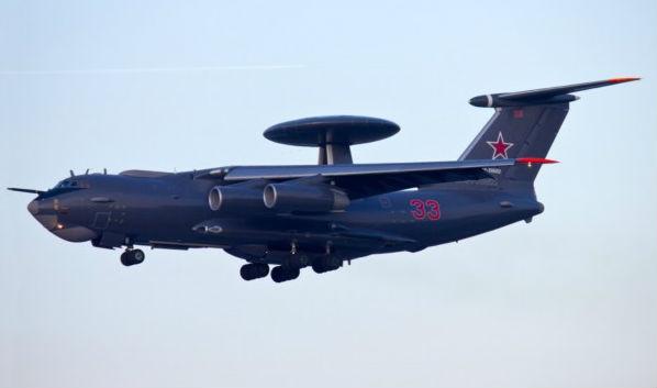 Một chiếc A-50 mang số hiệu 33 của Nga