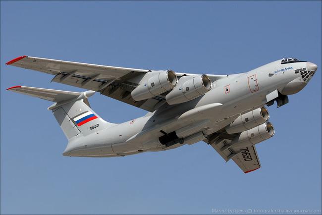 Mẫu A-100 sẽ được chế tạo trên nền tảng siêu vận tải cơ Il-76MD-90A
