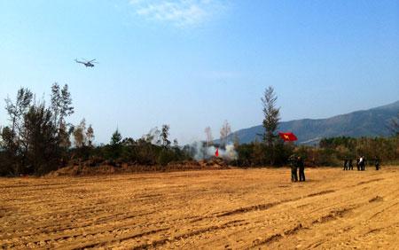 Tang lễ Đại tướng: Điều 2 máy bay trực thăng túc trực
