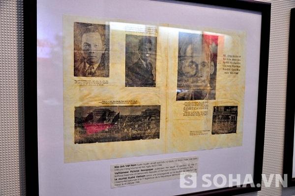 Bức ảnh Việt Nam tuyên truyền về kết quả bầu cử Quốc hội khóa I nước Việt Nam Dân chủ Cộng hòa tại Hà Nội ngày 6/1/1946