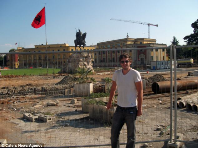 PIC FROM CATERS NEWS - (PICTURED: ALBANIA)