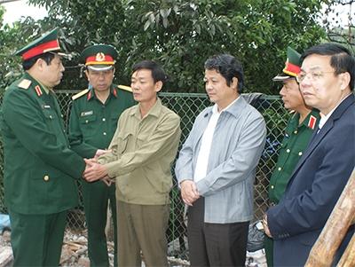 Đại tướng; Phùng Quang Thanh; pháo hoa; Phú Thọ