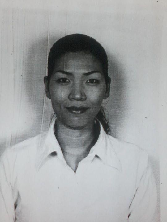 Hình ảnh chị Lê Thị Thanh Huyền được người thân đăng tải trên Facebook để tìm