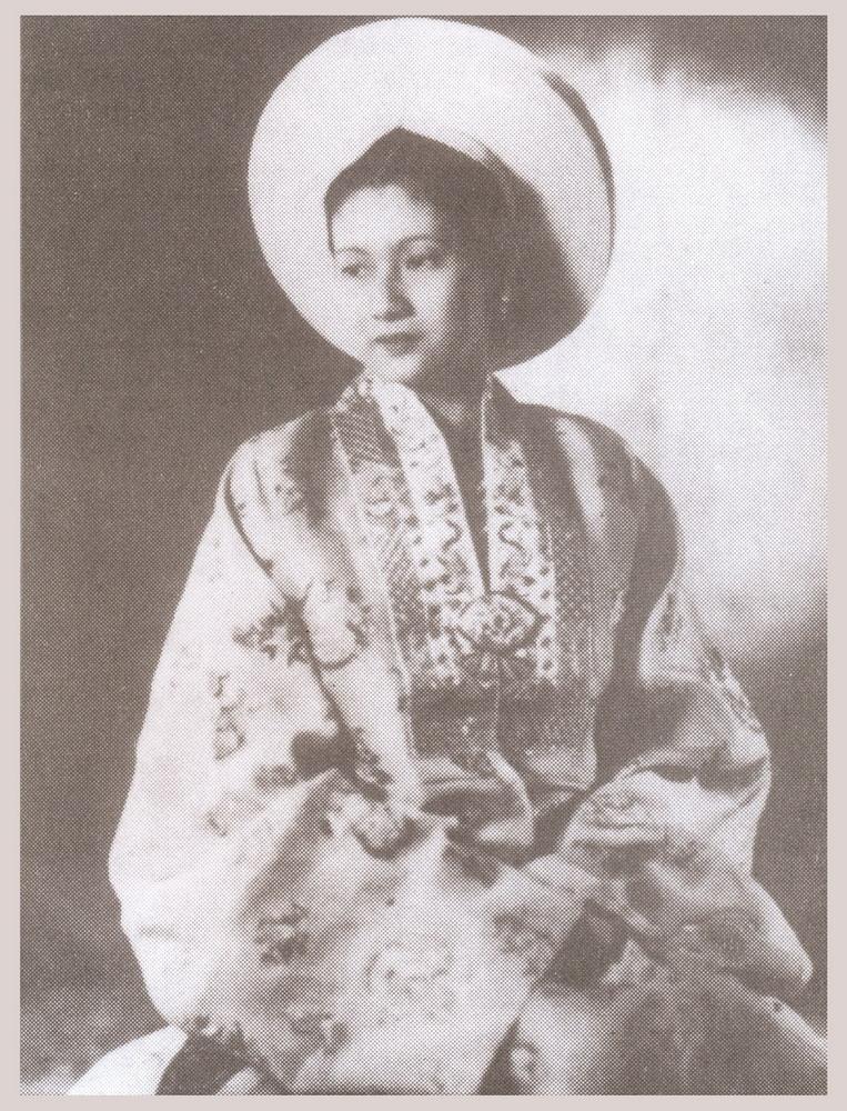 Nam Phương trong ngày nhận ngôi vị hoàng hậu. Ảnh chụp ngày 21/3/1934.
