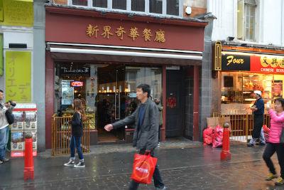 Cửa hiệu của người Hoa tại Chinatown London