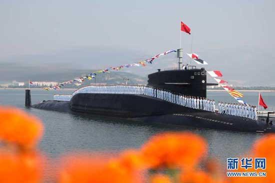 Hình ảnh về lực lượng tàu ngầm hạt nhân đầu tiên của Trung Quốc.
