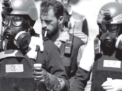 Thanh sát viên của Tổ chức cấm vũ khí hóa học tại Syria