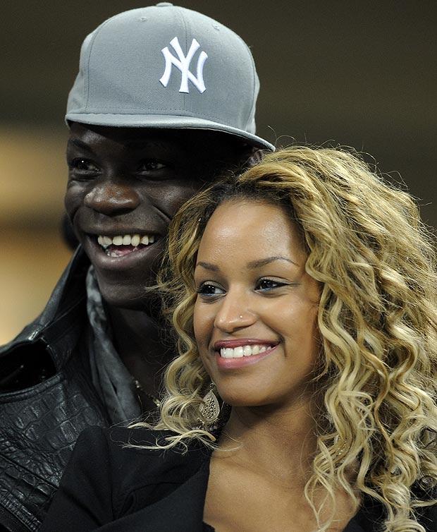 Mario Balotelli đang rất hạnh phúc bên Fanny
