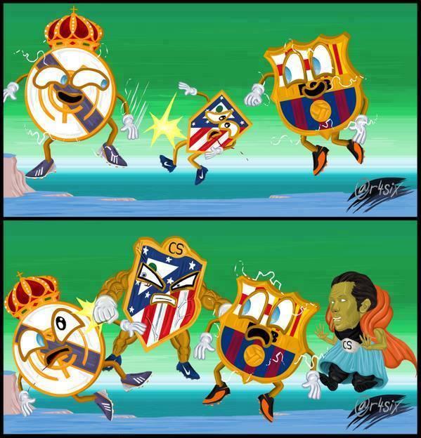 Giờ thì đừng hòng bắt nạt Atletico nhé