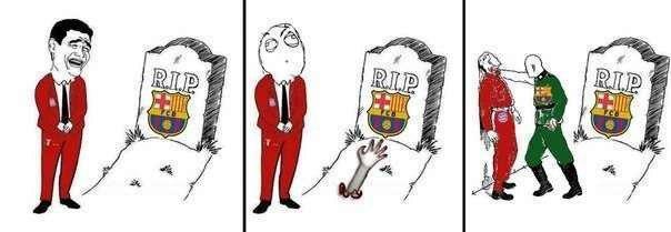Liệu Barca có đội mồ sống dậy?