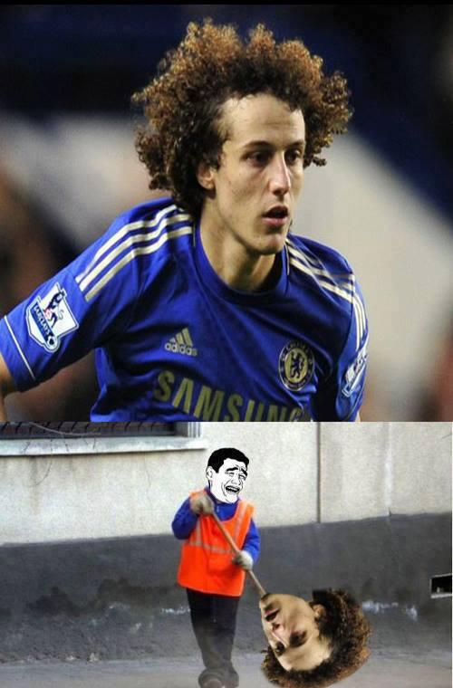 Tác dụng mới của David Luiz