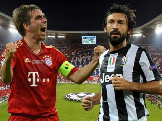 Bayern và Juventus tạm thời đang là những kẻ vô đối về nhì tại Champions League