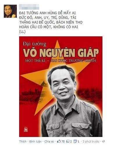 Thông tin Đại tướng từ trần khiến cộng đồng mạng Việt bàng hoàng, bất ngờ và đau buồn