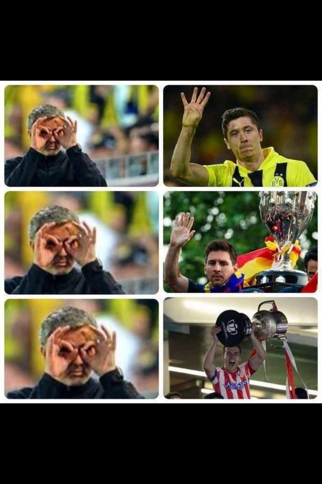 Nhìn thấy gì chưa Mourinho?