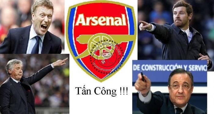 Xâu xé Arsenal thôi