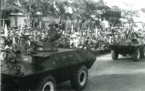 V-100 trong chiến tranh bảo vệ biên giới phía Nam