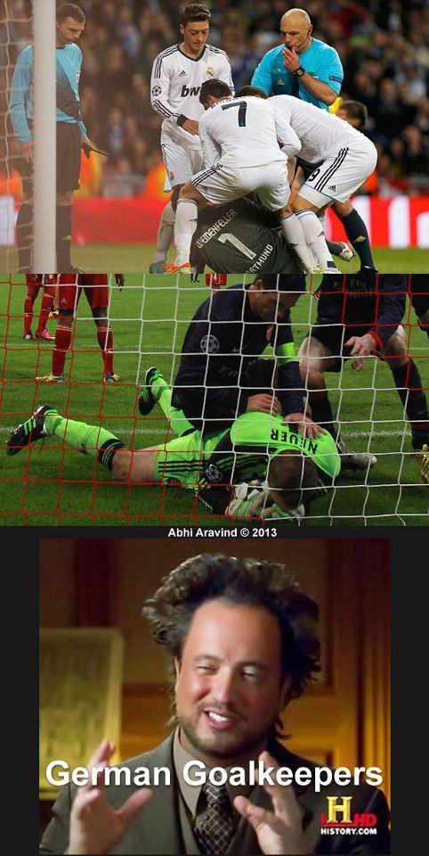 Chỉ có thể là thủ môn Đức