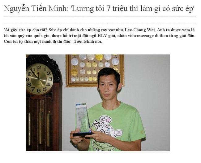 Tay vợt Nguyễn Tiến Minh chẳng phải nợ nần ai?