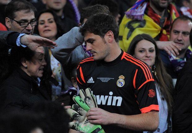 Iker Casillas tiếp tục phải làm dự bị cho Diego Lopez