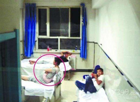 Tan đang bị giam giữ tại bệnh viện để chờ sinh con.