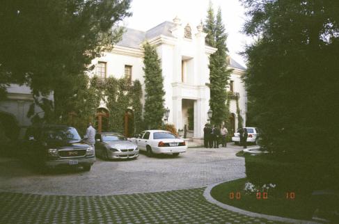 Căn biệt thự của Michael Jackson ở Bel Air, California, nơi ông qua đời vào ngày 25/6/2009.
