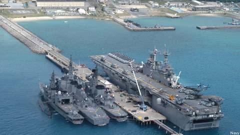 Okiniwa chiếc gai Mỹ chực đâm vào mắt Trung Quốc