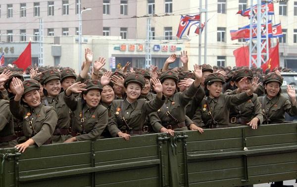 Triều Tiên đang là đất nước đông quân nhân nữ nhất thế giới