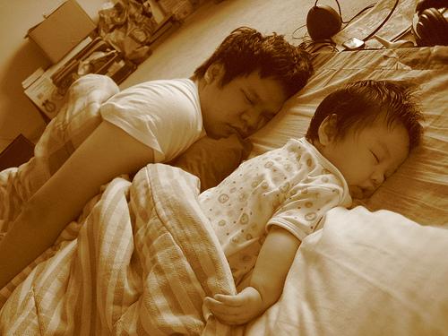 Hiếu Hiền, Huy Tuấn với con trai : cha nào con nấy