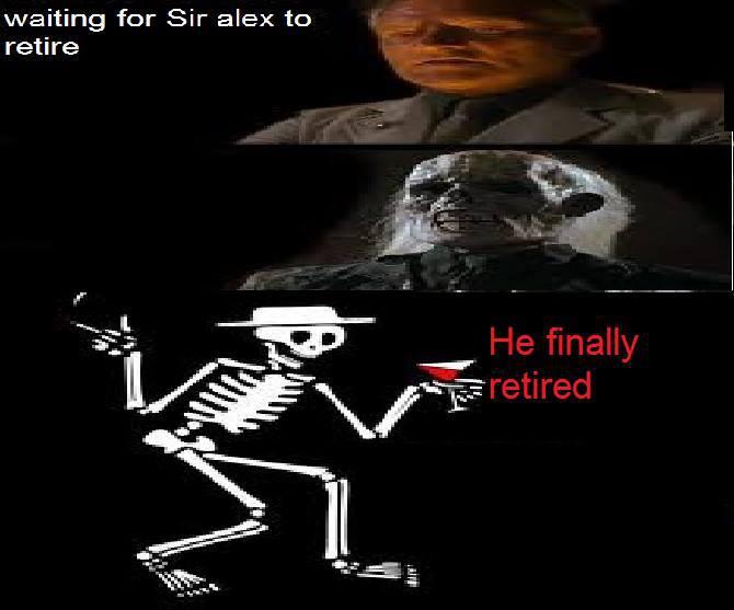 Mãi rồi Sir Alex cũng nghỉ hưu