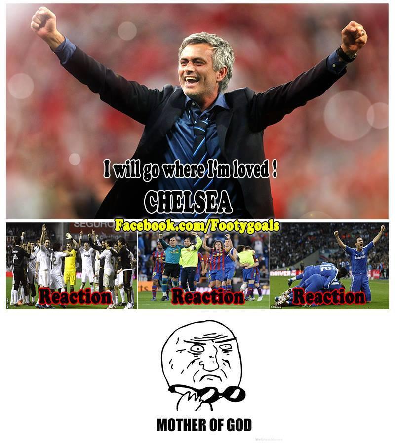 Mourinho đi mà có tới 3 đội ăn mừng