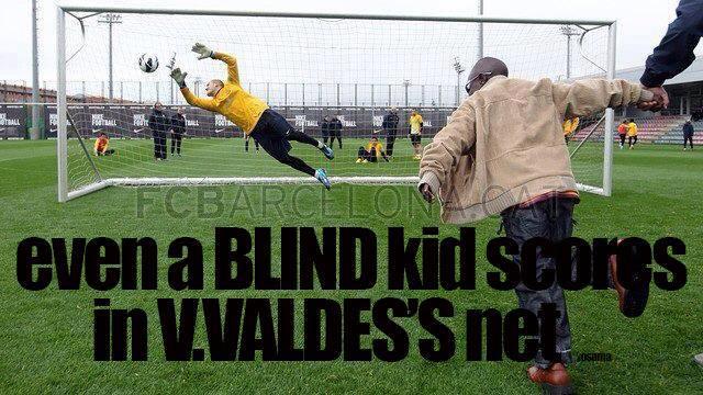 """Một cậu bé mù cũng có thể """"phá giá"""" Valdes???"""