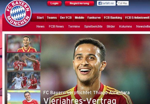 Website chính thức của Bayern xác nhận thông tin