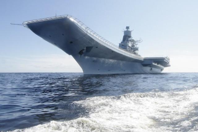 Vikramaditya đã hoàn tất các cuộc thử nghiệm trên biển trước khi được bàn giao.