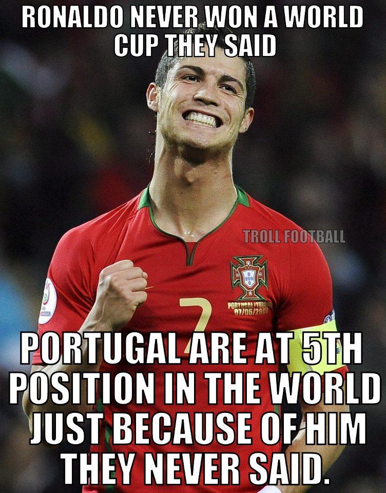 Bồ Đào Nha vươn lên đứng thứ 5 trên BXH FIFA là nhờ CR7?