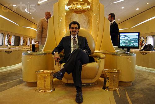 Hoàng thân Alwaleed bin Talal.