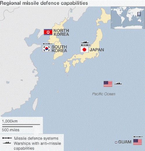 Guam có vị trí hết sức chiến lược ở Thái Bình Dương