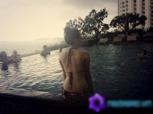 Hồ Ngoc Hà ôm trai lạ, Cao Thái Sơn ;cắt máu ăn thề' với cuộc tình 5 năm