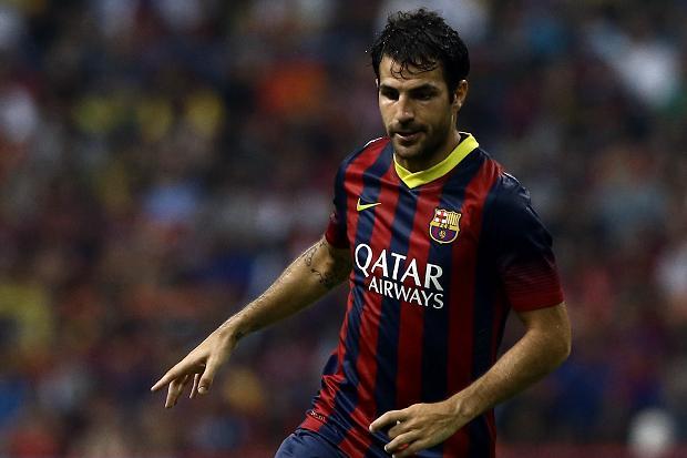 Cesc Fabregas có thể đến Man United vào tháng Giêng tới
