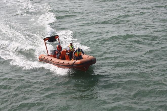 hoạt động tuần tra của lực lượng cảnh sát biển