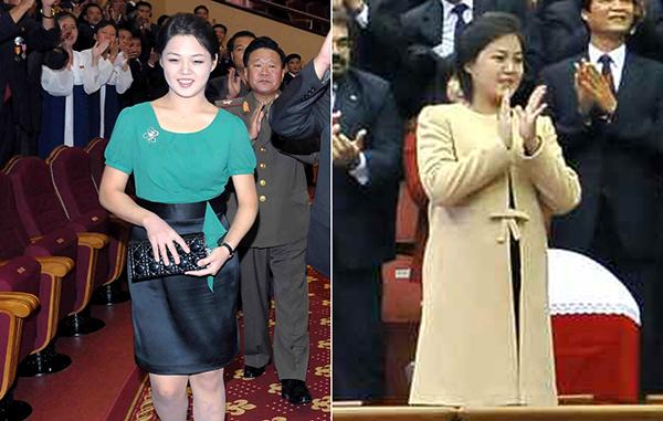 Phong cách thời trang của Ri Sol Ju đã được truyền thông ca ngợi.