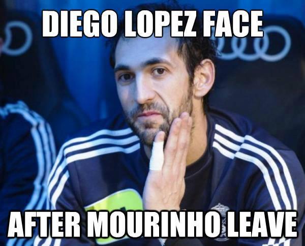 Lopez khi Mourinho ra đi