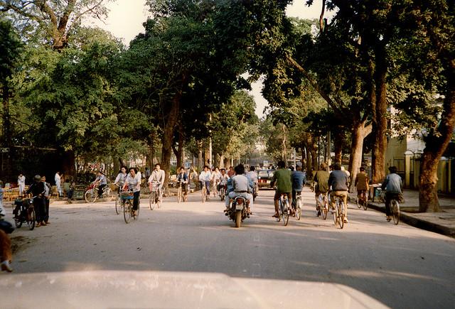 Góc phố Phan Đình Phùng.