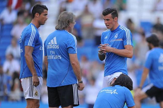 Cris Ronaldo vui hay buồn khi Bale chấn thương - chẳng ai biết!