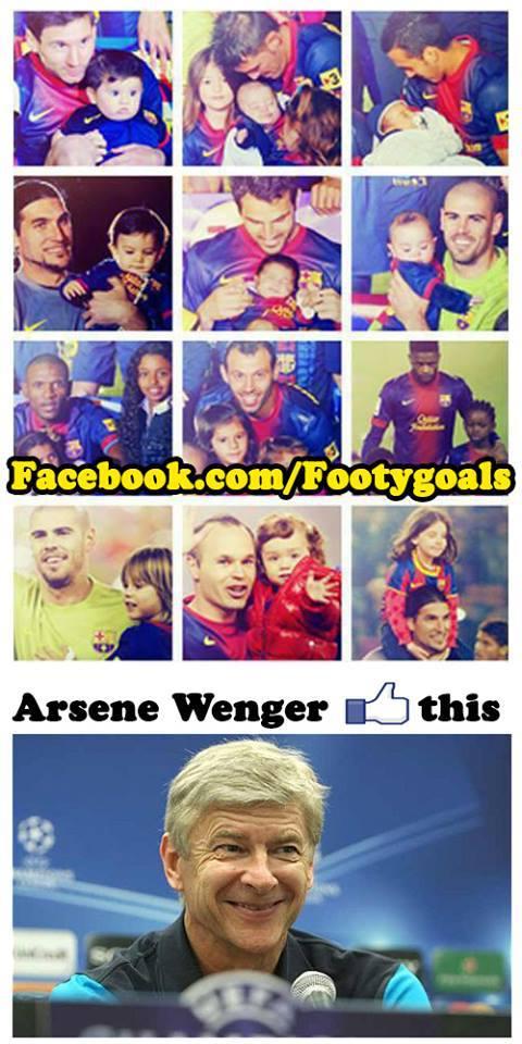 Arsene Wenger thích điều đó